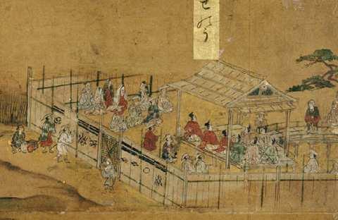 洛中洛外図屏風(歴博甲本)