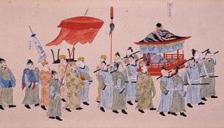 琉球人_行列にみる近世-武士と異国と祭礼と-|これまでの企画展示